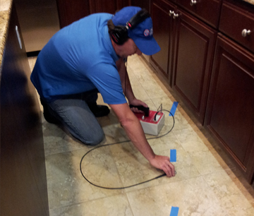 Detect slab leaks fast by contacting our top-rated, Whitney local plumbers